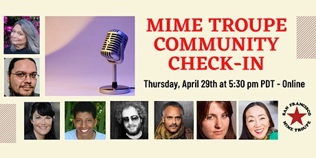 Mime Troupe Community Check-In tickets