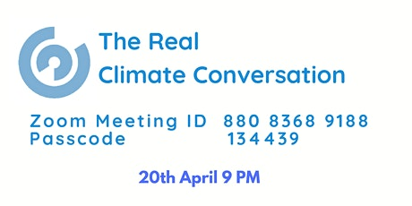 The Real Climate Conversation tickets