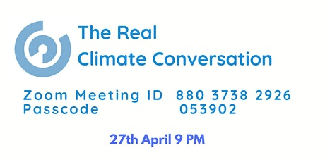 The Real Climate Conversation 2 tickets