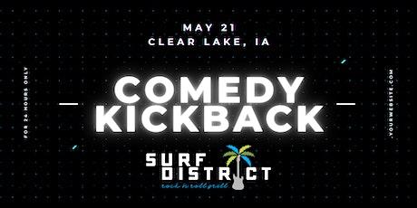 BIAS Clear Lake Comedy Kickback tickets