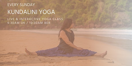 Kundalini Yoga classes by Asanaguru | Every Sunday morning (EUR) entradas