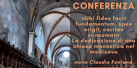 Conferenza mons. Claudio Fontana biglietti