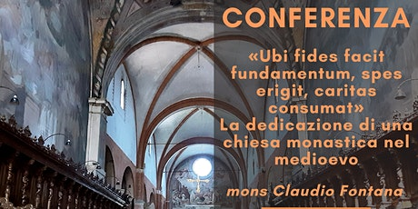 Conferenza mons. Claudio Fontana tickets