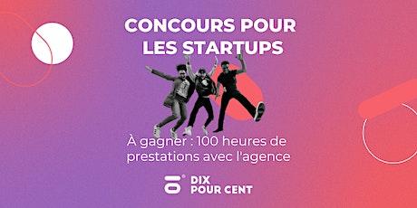 Concours des startups responsables 2021 - Réunion de Lancement tickets