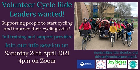 Rumi Mosque Enfield - Ride Leaders Info Session tickets