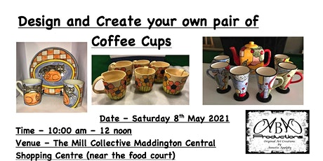 Coffee Cup Creating Workshop tickets