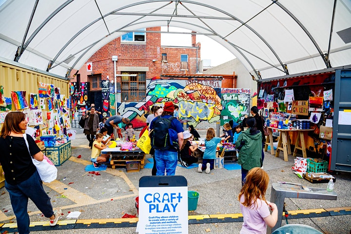 Mini Maddern Pop-up Play Space  Footscray image