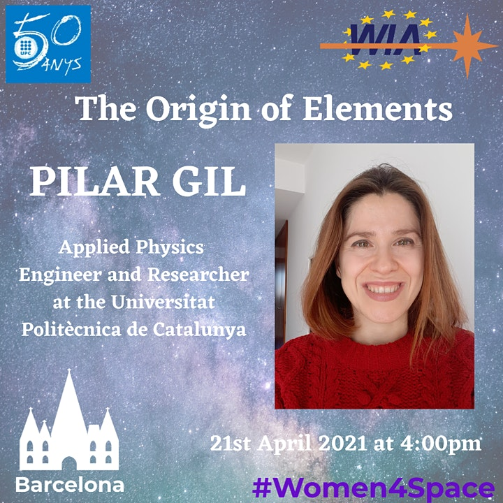 WIA-E Barcelona - #Women4Space Conference with Pilar Gil image