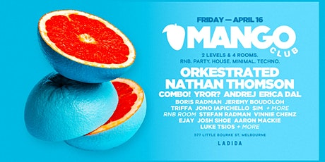 MANGO CLUB - IT'S A FRUITY PARTY tickets