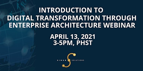 Introduction to Digital Transformation through Enterprise Architecture tickets