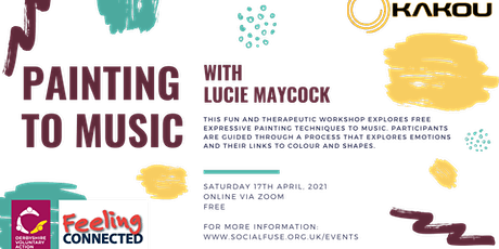 Painting to Music with Lucie Maycock tickets