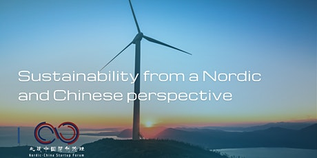 Sustainability from a Nordic and a Chinese perspective tickets