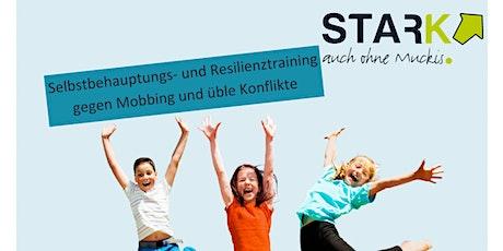 Stark auch ohne Muckis - Selbstbehauptungs- und Resilienztraining für Kids Tickets