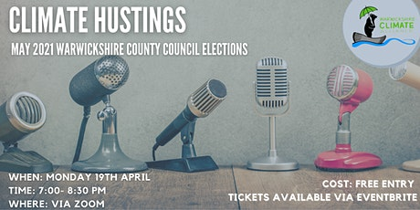 Climate Hustings tickets