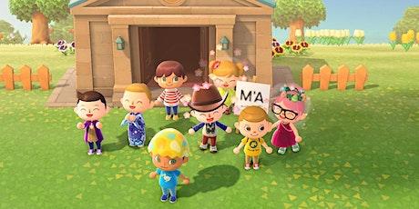 Visite virtuelle du Muséum d'Angers sur Animal Crossing billets