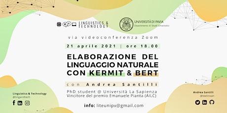 Elaborazione del Linguaggio Naturale con KERMIT & BERT boletos