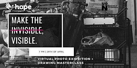 Photo Exhibition and Drawing Masterclass  for the Hope Centre charity tickets