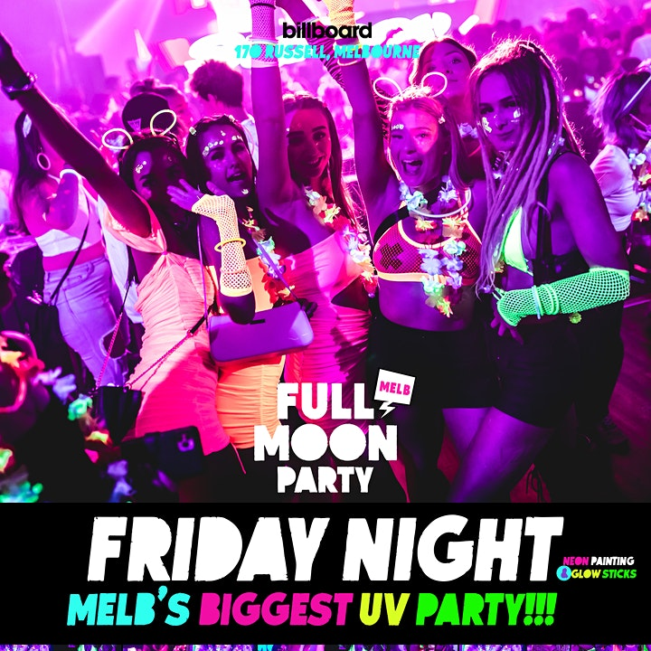 Full Moon Party Melbourne (APRIL) image