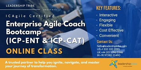 Enterprise Agile Coach Bootcamp | Part Time - 020821 - Italy biglietti