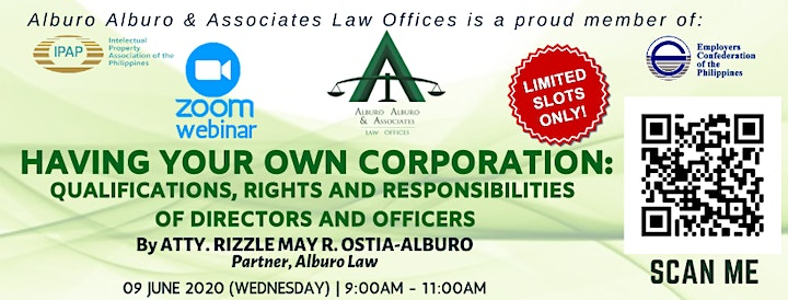 Having Your Own Corporation: Qualifications, Rights and Responsibilities image