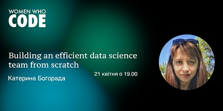 Building an efficient data science team from scratch entradas