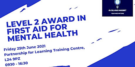 Level 2 First Aid for Mental Health tickets