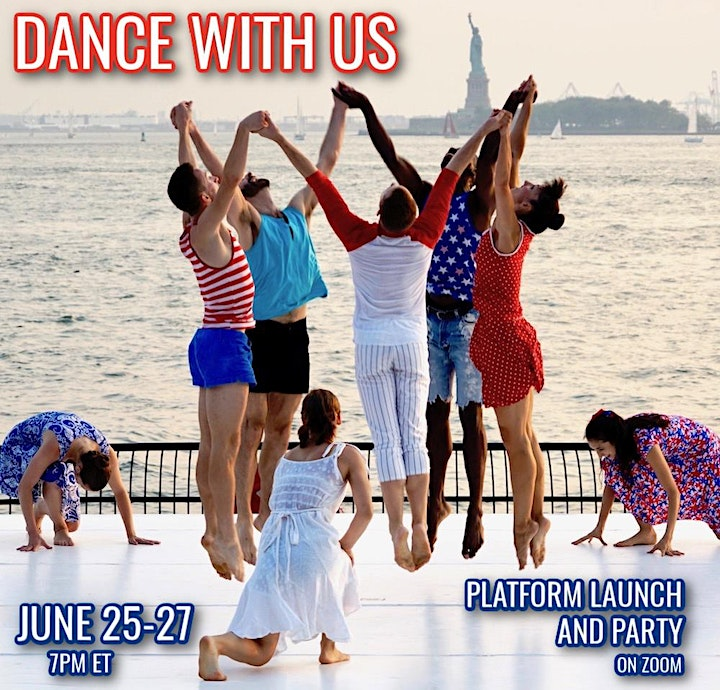 Dance With Us Platform Launch and Party with Daniel Gwirtzman Dance Company image