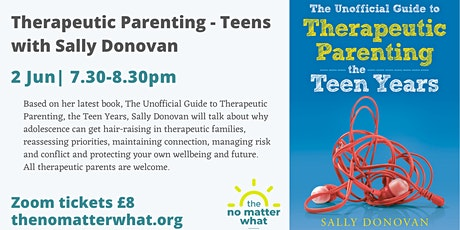 Therapeutic parenting - teens tickets