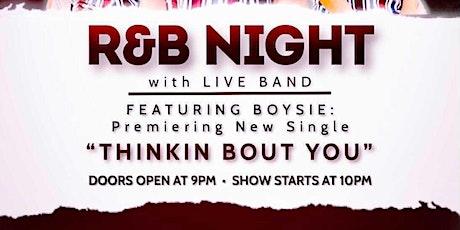 R&B night at Barons bar in Camden, SC tickets