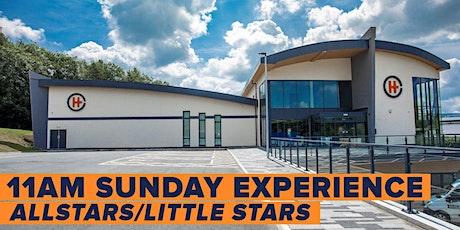 Sunday 11am Experience (No Allstars & Little Stars tickets