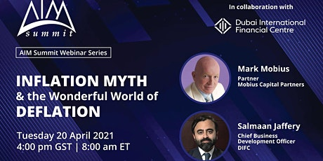 """""""Inflation Myth & The Wonderful World of Deflation"""" with Mark Mobius tickets"""