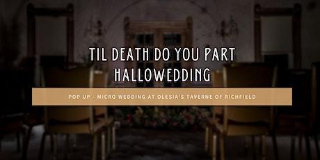 HalloWedding - Pop Up Micro Wedding tickets
