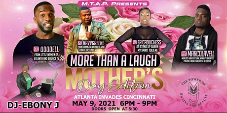 MORE THAN A LAUGH MOTHER'S DAY EDITION tickets