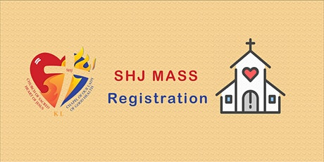 SHC 9:30am Sunday Mass Registration tickets