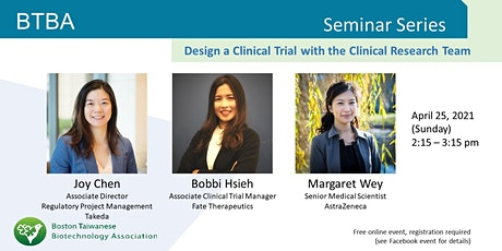 Design a Clinical Trial with the Clinical Research Team tickets