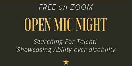 Open Mic Night, June 12th. Tickets
