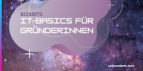 BIZ & BITS: IT-Basics für Gründerinnen Tickets