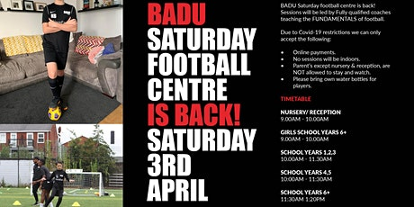 BADU Football Centre tickets