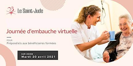 Journée d'embauche virtuelle de la Résidence Le Saint-Jude billets