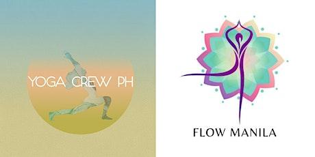 Yoga Crew PH x Flow Manila #AprilFoldsWeek Challenge Classes tickets