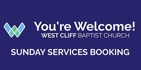 West Cliff Baptist Church Sunday Service -  Sunday 25th April tickets