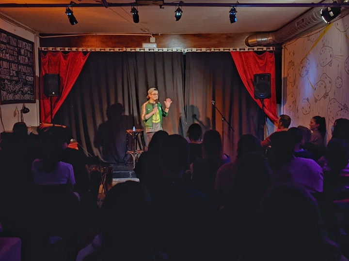 TONIGHT! THE DARK COMEDY SHOW • Stand Up Comedy in English image