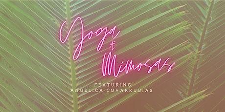 Mimosas & Yoga tickets