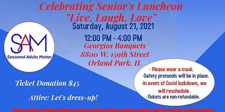 Celebrating Seniors: Live, Laugh, Love tickets