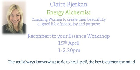 Reconnect to your true essence for purpose and joy workshop tickets
