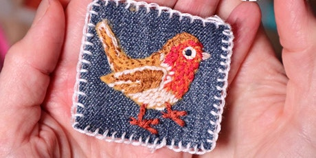 FREE Introduction to hand embroidery sewing for beginners tickets