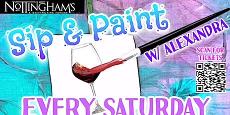 Sip and Paint at Nottingham's! tickets