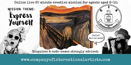 Company of International Artists: LIVE and ONLINE! tickets