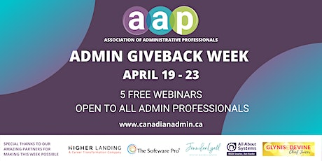 Currency-Driven Performance Program for Administrative Professionals tickets