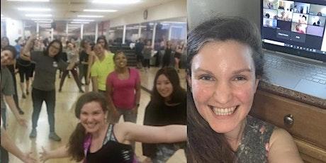 April 12, Week 57  -  Virtual Fitness Studio:  Zumba, Tone/core, Stretch tickets